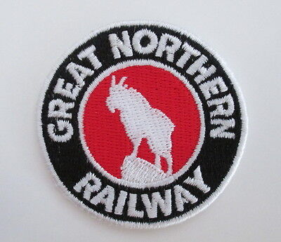 GREAT NORTHERN RAILWAY Railroad PATCH