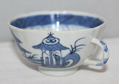 Antique Chinese Blue/White Porcelain - Kangxi - Teacup with figural scenes