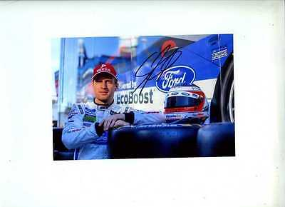 Stefan Mucke Ganassi Racing Ford GT WEC & Le Mans 2016 Signed Photograph 2