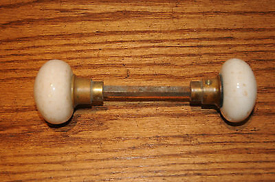 Antique Glass Door knobs with a marbled Look  Unusual Architectural Hardware ...