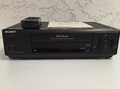 Sony SLV-675HF HIFI Stereo VHS VCR Video Cassette Recorder Player with Remote