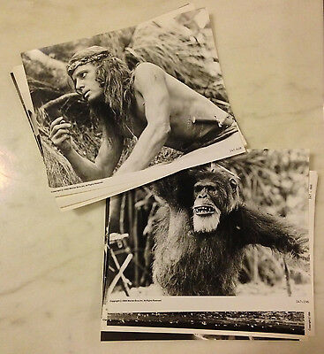 GREYSTOKE: THE LEGEND OF TARZAN, LORD OF THE APES (1984) Press Kit Photos