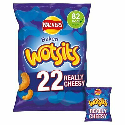 Walkers Wotsits Cheese 22 x 16.5g - Sold Worldwide From UK