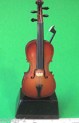 CELLO -  miniature mounted on base - stand