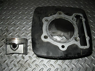 1981 Honda Xr 500R Cylinder And Piston  Barrel Jug  Freeshipus+Canada