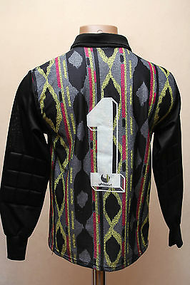 TRABZONSPOR TURKEY 1990`s GOALKEEPERS FOOTBALL SHIRT JERSEY TRIKOT UHLSPORT #1