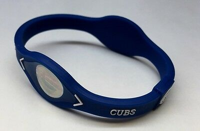 Power Balance - CHICAGO CUBS Bracelet Band  - Wristband - 3 Sizes - NEW