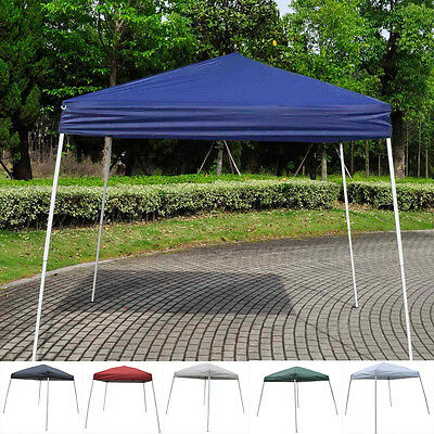 2.5X2.5M PopUp Garden Gazebo Waterproof Folding Party Tent Marquee Awning Canopy