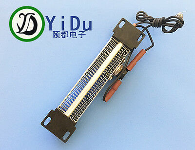 250W 110V AC DC Insulated PTC ceramic air heater PTC heating element 140*32mm
