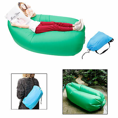 Canapé gonflable idéal piscine camping couchage plage transat lay bag hamac