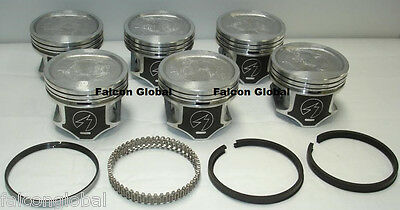 Jeep 4.0L/242 Sealed Power Hypereutectic Pistons+Cast Rings Kit/Set 1996-06 .030