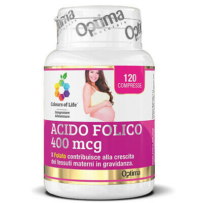Optima Acido Folico 120 Cpr