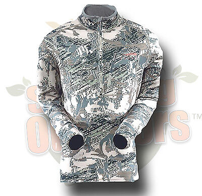 M MD Sitka Gear Traverse Zip T Shirt Optifade Open Country 70001-OB-M