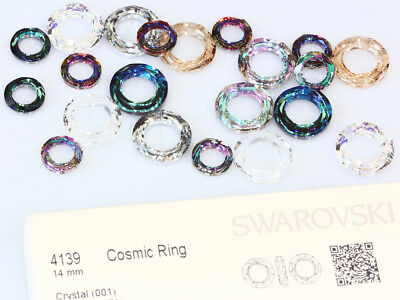 Genuine SWAROVSKI 4139 Cosmic Ring Crystals Fancy Stones * Many Sizes & Colors