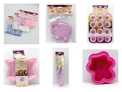 Cake Candles and Assorted Cake Making Accesories