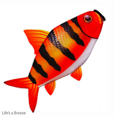 Fish Windsock. Red Zebra.  For Caravan And Motorhome Use