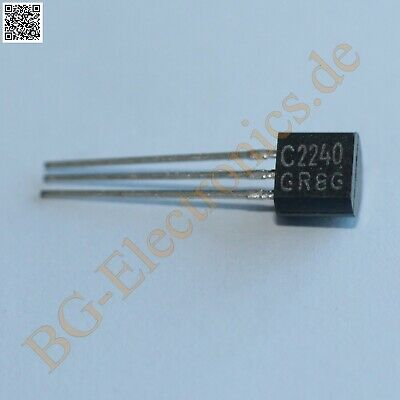 5 x 2SC2240 NPN Transistor For Low Noise Audio Amplifier A Toshiba TO-92 5pcs