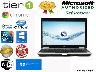 HP Elitebook 2540p Core i5 M540, 2.53GHz, 4GB, 250GB Webcam Windows 7 Laptop GC