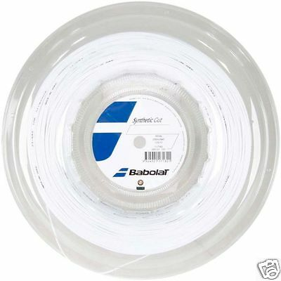 Babolat Synthetic Gut Tennis String - 200m Reels - Any Gauge - Free UK P&P