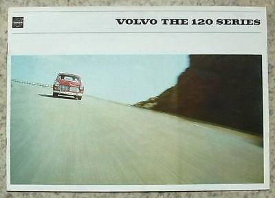 VOLVO 120 SERIES 121 122 S Car Sales Brochure 1965-66 #RK 1720