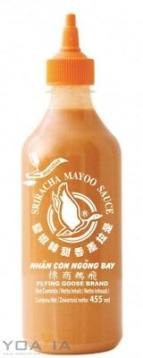 (7,23€/1l) [ 455ml ] FLYING GOOSE Sriracha Mayoo Sauce /Chilicreme würzig-scharf