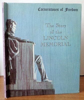 The Story of the Lincoln Memorial by Miller 1966 (Cornerstones of Freedom) VG