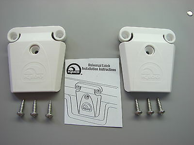 2 New Igloo Cooler Part #24013-Latch, Post And Screws!!