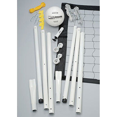 Platinum Portable Volleyball Set Featurng Steel Pole System