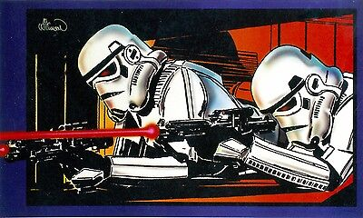 Star Wars Stormtroopers Lithograph Signed By Al Williamson