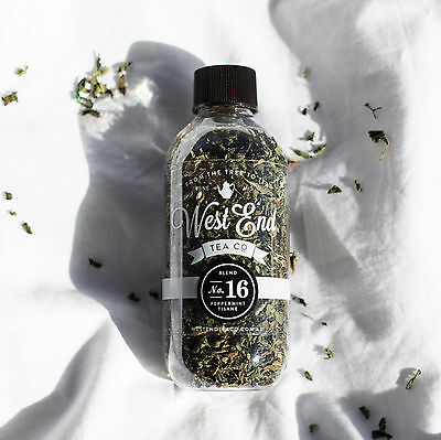 NEW Organic Peppermint Tisane Loose Leaf by West End Tea Co