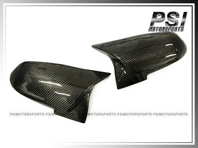 BMW M4 Style F32 F33 F36 428i 435i  3K Carbon Replacement Mirror Covers