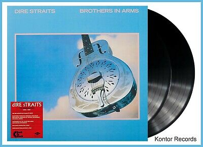 "Dire Straits ""brothers in arms"" audiophile heavyweight Vinyl 2LP + MP3 NEU"