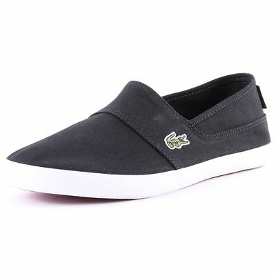 Lacoste Marice Lcm Mens Slip On Black New Shoes