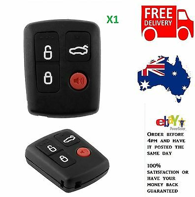 Ford 4 Button Remote Key Case Shell For Falcon BA BF Territory SX XR6 XR8 FPV