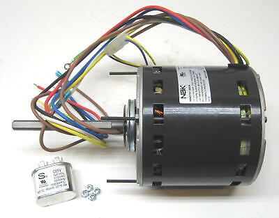 Furnace Air Handler Blower Motor ½ HP 1075 RPM 115 Volts 4 Speed for Fasco D701