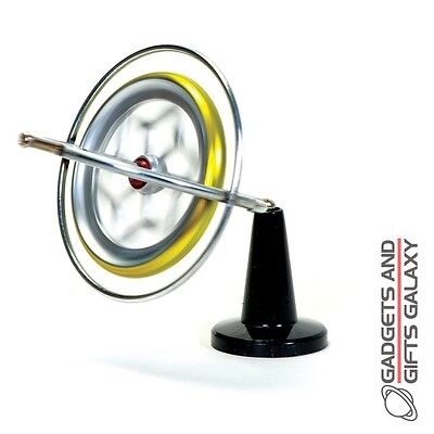 GYROSCOPE ORIGINAL MADE IN AMERICA ALL METAL traditional classic desktop toy