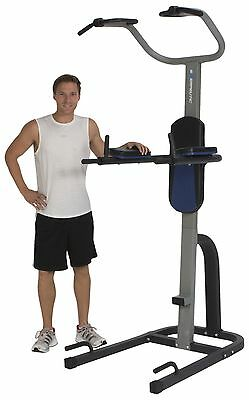 ProGear 1720 275 Tower Fitness Station with Extended Capacity Power Black