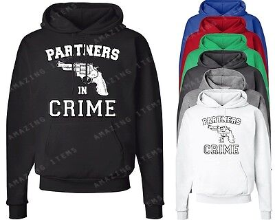 Partners In Crime Right Hoodie Couple Matching sweatshirts cute couple