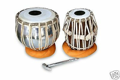 Handmade Professional Tabla Drums Set Iron Bayan Shesham Wood Dayan Tabla Rh0005