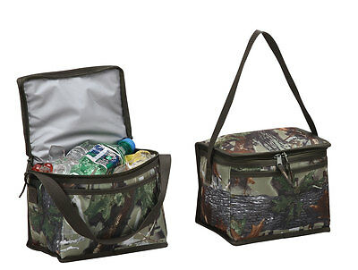 Camo 6-Pack Cooler Outdoor Trip Summer Bbq Fishing Beach Picnic P7155