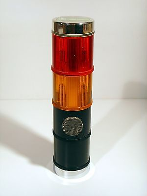 GE SLR2GGK202 Audible Light Tower, Red-Amber, 120VAC *GOOD USED PULL*