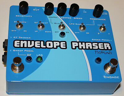 PigTronix Envelope & Rotary Phaser, Brand New in Box, Free World Shipping