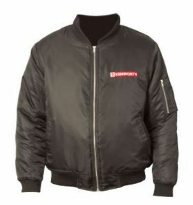 Genuine Kenworth Bomber (Flying) Jacket Size Large (C-Ken543)