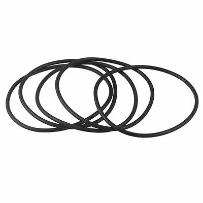 95mm x 3.5mm x 88mm Rubber Sealing Oil Filter O Rings Gaskets 5 Pcs