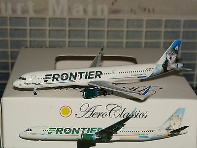 Aeroclassics Frontier A321 N704FR 1/400 **Free S&H** 0716