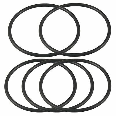 69mm x 62mm x 3.5mm Rubber Sealing Oil Filter O Rings Gaskets 5 Pcs