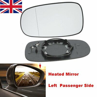 For Saab 93 2003-2013 Wing Mirror Glass Convex HEATED Left Side //SA001
