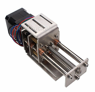 CNC Z Axis Slide 3 Axis Engraving Machine DIY Milling Linear Motion Mini 60MM