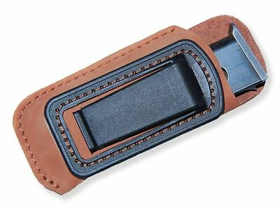 Leather MAG POUCH for  magazine fits PM (Makarov) Mags