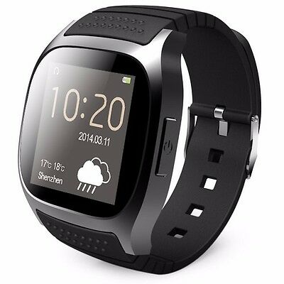 Smartwatch Uhr Watch Bluetooth Armband Smartphone Tablet Android IOS Windows